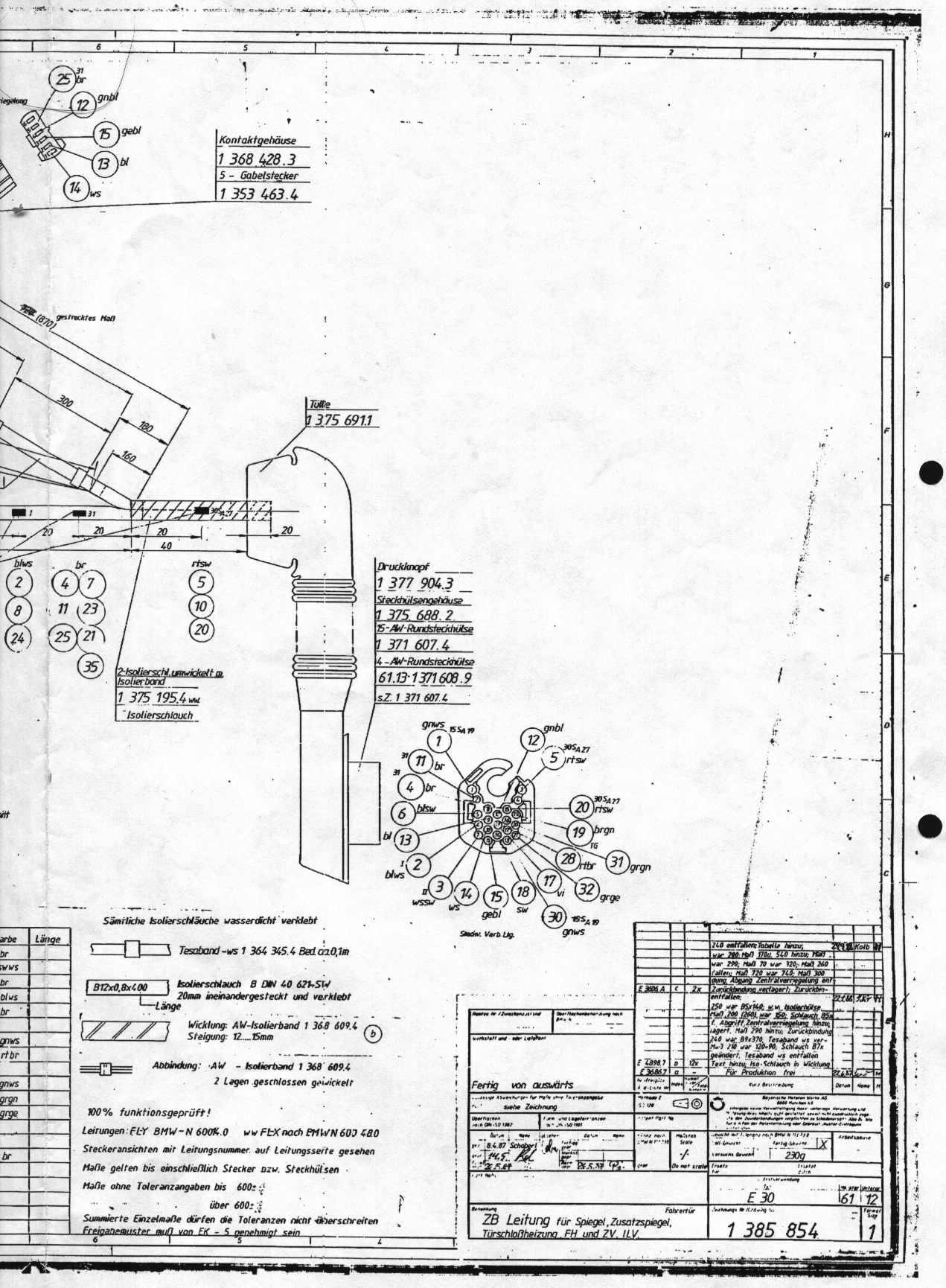 Tolle Bmw E30 Schaltplan Galerie - Der Schaltplan - traveltopus.info